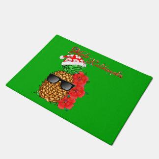 Tapete Abacaxi do Natal de Mele Kalikimaka