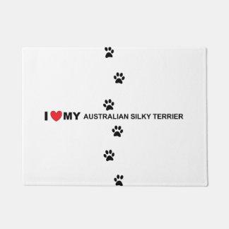 Tapete amor de seda australiano