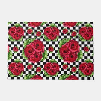 Tapete Amor floral do buquê Rockabilly das rosas