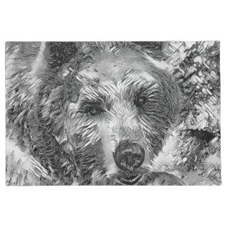 Tapete AnimalArtBW_Bear_20170604_by_JAMColors