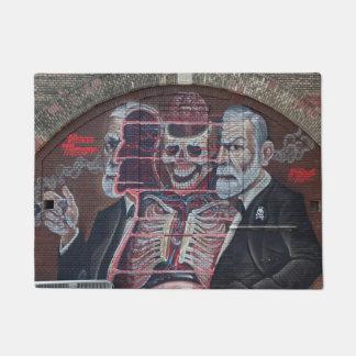 Tapete Arte da rua de Sigmund Freud