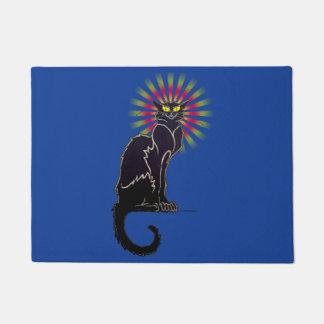 Tapete Arte Noir do halo do gato preto do bate-papo do