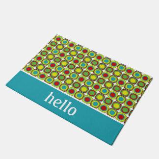 Tapete Azulejos do quadrado do divertimento do verão