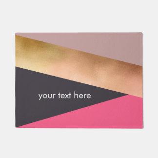 Tapete bloco cinzento da cor do rosa cor-de-rosa elegante