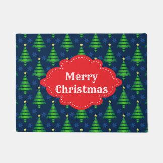 Tapete Boa vinda da árvore do Feliz Natal
