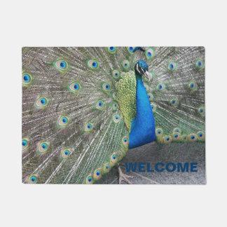 Tapete Boa vinda da foto do pavão
