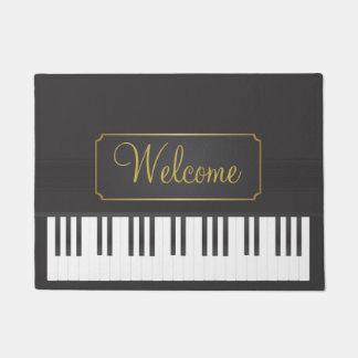 Tapete Boa vinda do piano