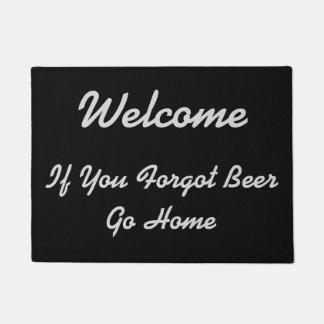 Tapete Boa vinda - se você esqueceu a cerveja -