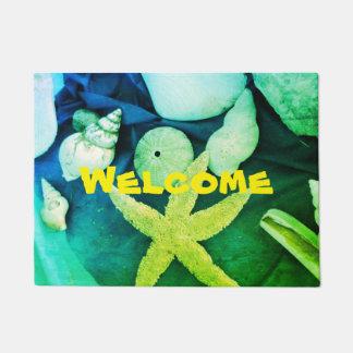 Tapete Boa vinda - Seashells & diabretes -