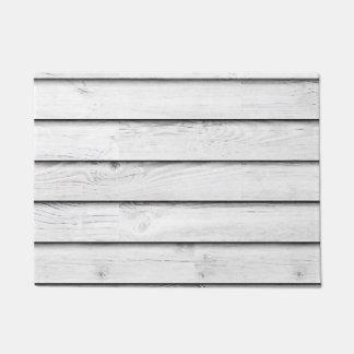 Tapete Branco de madeira | dos Slats | do falso
