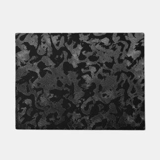 Tapete Camuflagem cinzenta preta e escura de Camo moderno