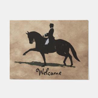 Tapete Cavalo & cavaleiro do adestramento