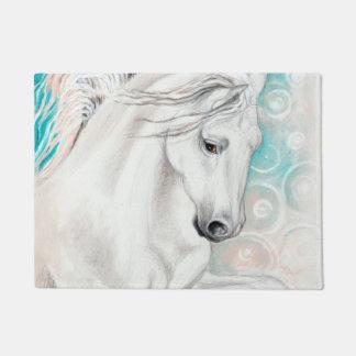 Tapete Cavalos andaluzes azuis