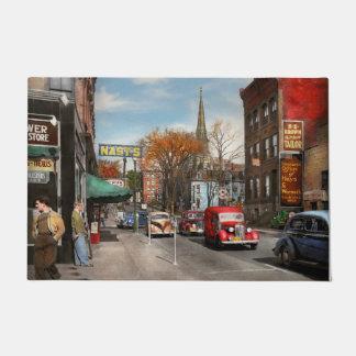 Tapete Cidade - Amsterdão NY - Amsterdão do centro 1941