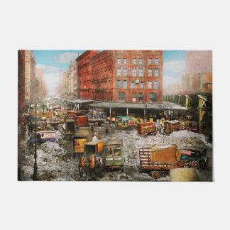 Tapete Cidade - New York NY - colada em uma rotina 1920