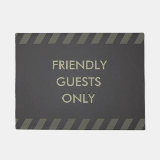 Tapete Convidados amigáveis somente