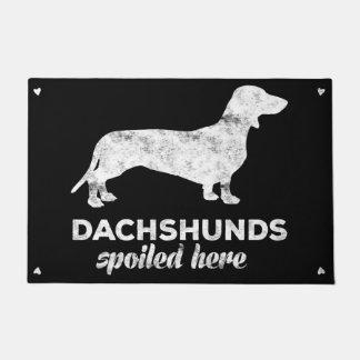 Tapete Dachshunds estragados aqui