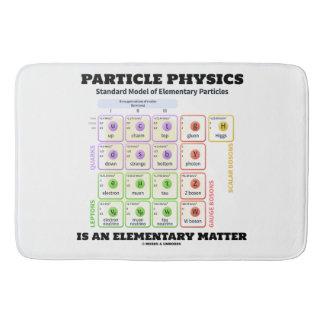 Tapete De Banheiro A física de partícula é um modelo elementar da