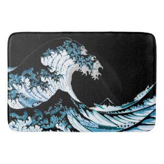 Tapete De Banheiro A grande onda fora de Kanagawa