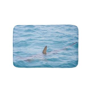 Tapete De Banheiro Aleta do tubarão no oceano