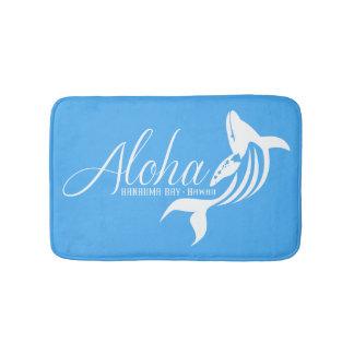 Tapete De Banheiro Aloha baleia de Havaí da baía de Hanauma