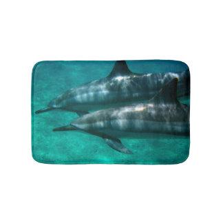 Tapete De Banheiro Aloha dos golfinhos de Havaí