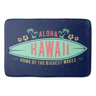 Tapete De Banheiro Aloha esteira de banho havaiana do surfista