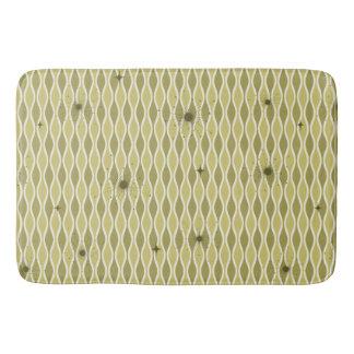 Tapete De Banheiro Ampulheta da modificação & esteira de banho verdes