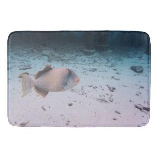 Tapete De Banheiro Animais selvagens subaquáticos tropicais dos