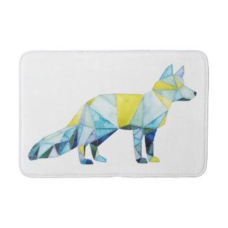 Tapete De Banheiro Animal geométrico do Fox