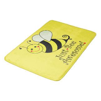 Tapete De Banheiro Apenas o amarelo impressionante da abelha Bumble a