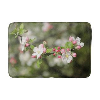 Tapete De Banheiro Apple floresce ramo