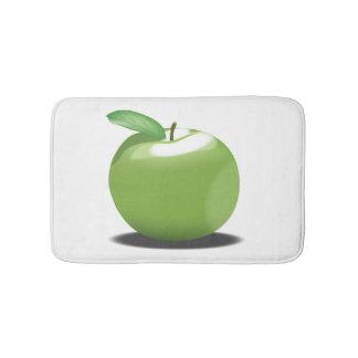 Tapete De Banheiro Apple verde