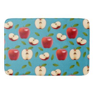Tapete De Banheiro Apple vermelho modela