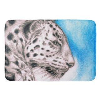 Tapete De Banheiro Arte de Jaguar