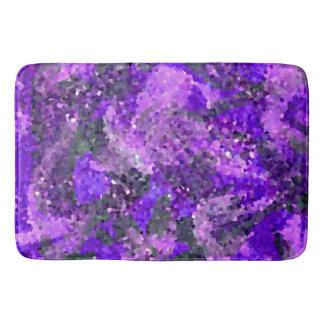 Tapete De Banheiro Arte geométrica floral abstrata dos azulejos de
