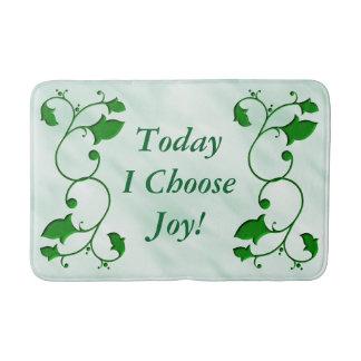 Tapete De Banheiro As folhas verdes entrelaçadas hoje eu escolho