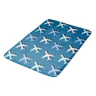 Tapete De Banheiro Aviões
