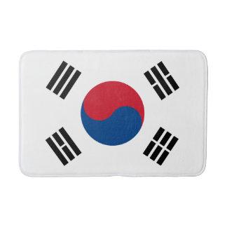 Tapete De Banheiro Bandeira de Coreia do Sul