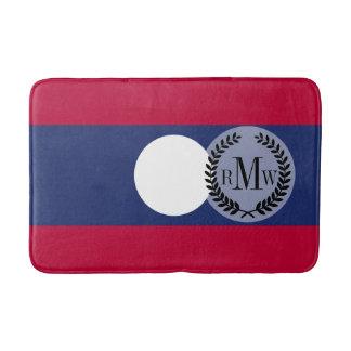 Tapete De Banheiro Bandeira de Laos