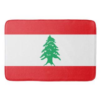 Tapete De Banheiro Bandeira de Líbano