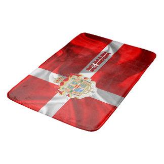 Tapete De Banheiro Bandeira dinamarquesa
