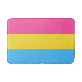 Tapete De Banheiro Bandeira Pansexual do orgulho
