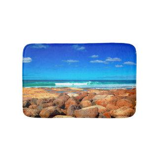 Tapete De Banheiro Beira-mar rochoso