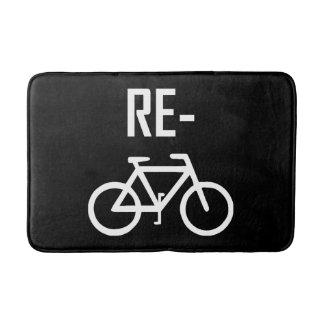 Tapete De Banheiro Bicicleta da bicicleta do reciclar