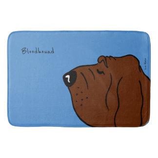 Tapete De Banheiro Bloodhound Head