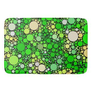 Tapete De Banheiro Bolhas de Zazzy, verdes