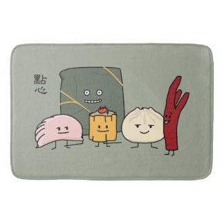 Tapete De Banheiro Bolo chinês dos bolos da bolinha de massa de Bao