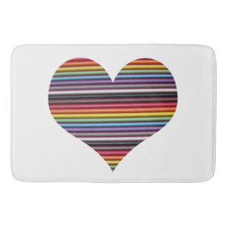 Tapete De Banheiro Cabo de fita do arco-íris