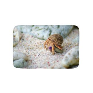 Tapete De Banheiro Caranguejo da areia, Curaçau, ilhas das Caraíbas,